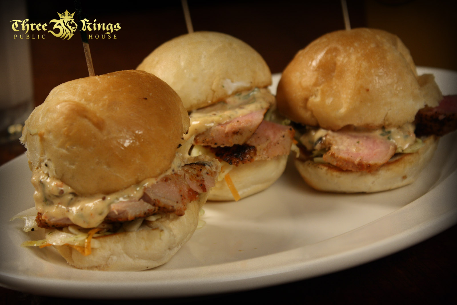 Sliders – Three Kings Public House