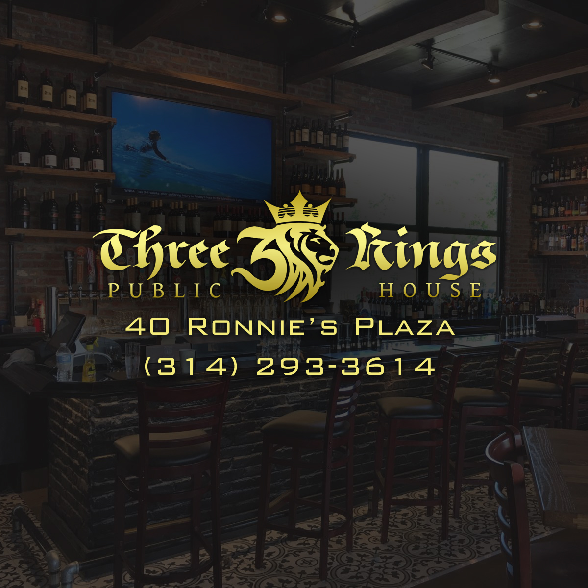 Three kings pub ronnie s plaza three kings public house for King s fish house happy hour