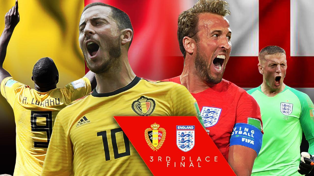 England Vs Belgium Fifa World Cup
